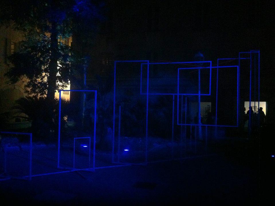 Sébastien Zanello installation festival TLN 2013